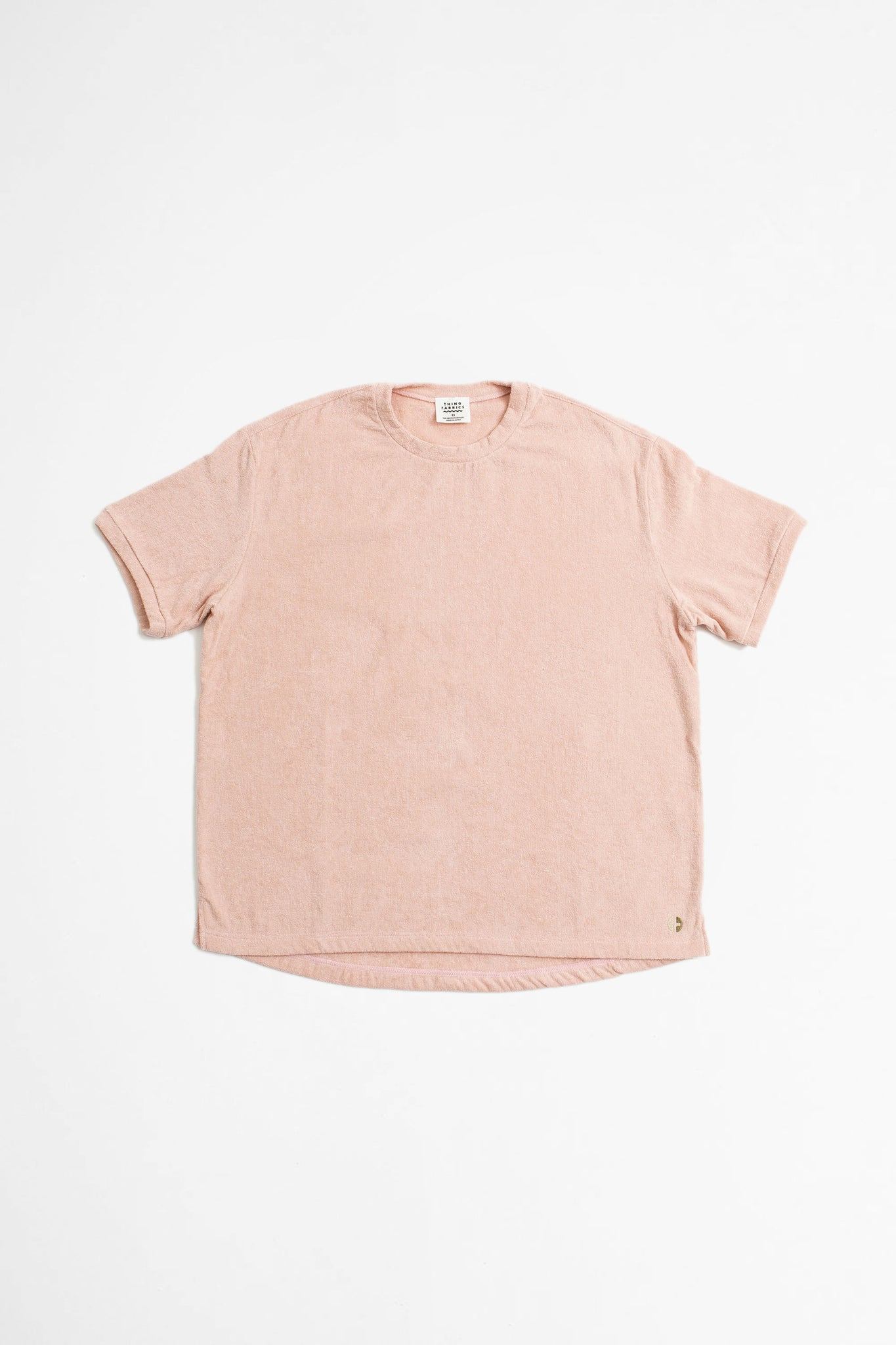 T-shirt silver pink