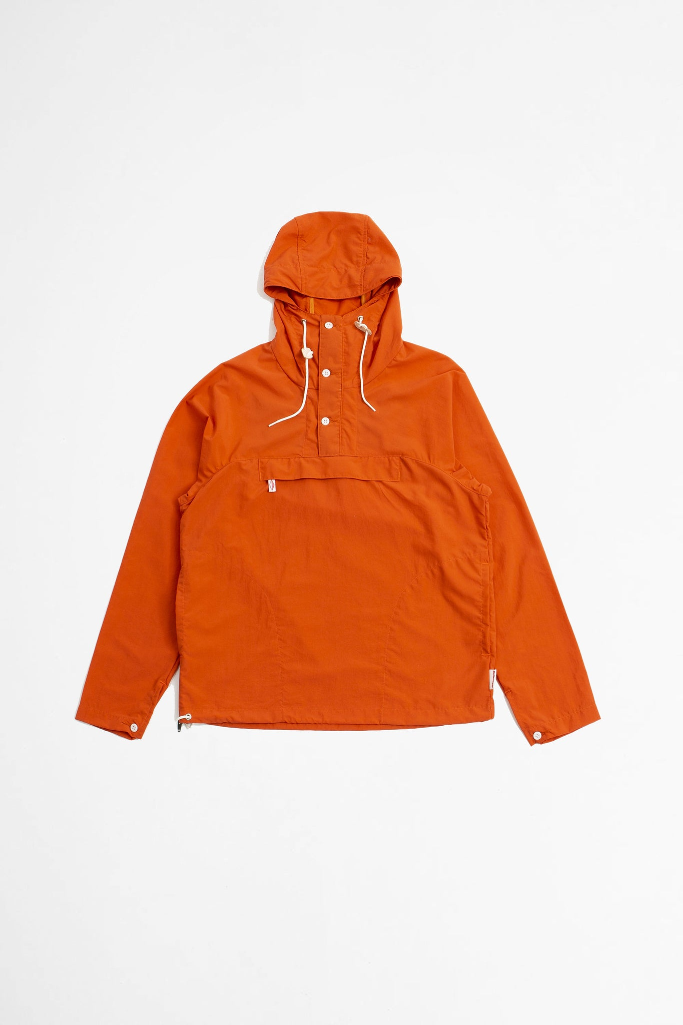 Packable anorak orange