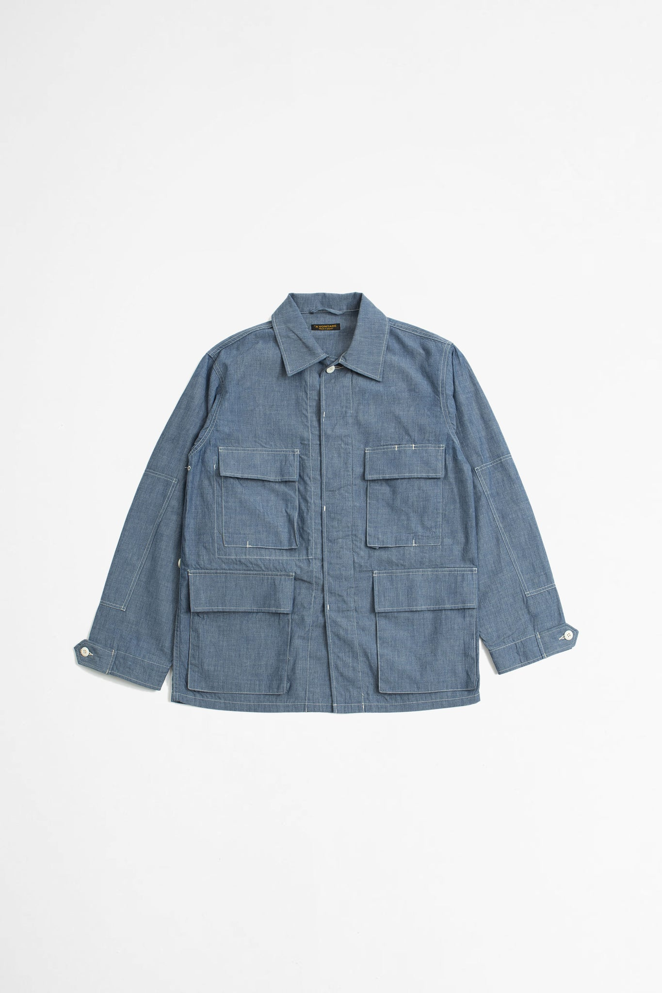 BDU tropical jacket light blue