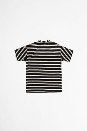 Border t-shirt black/white