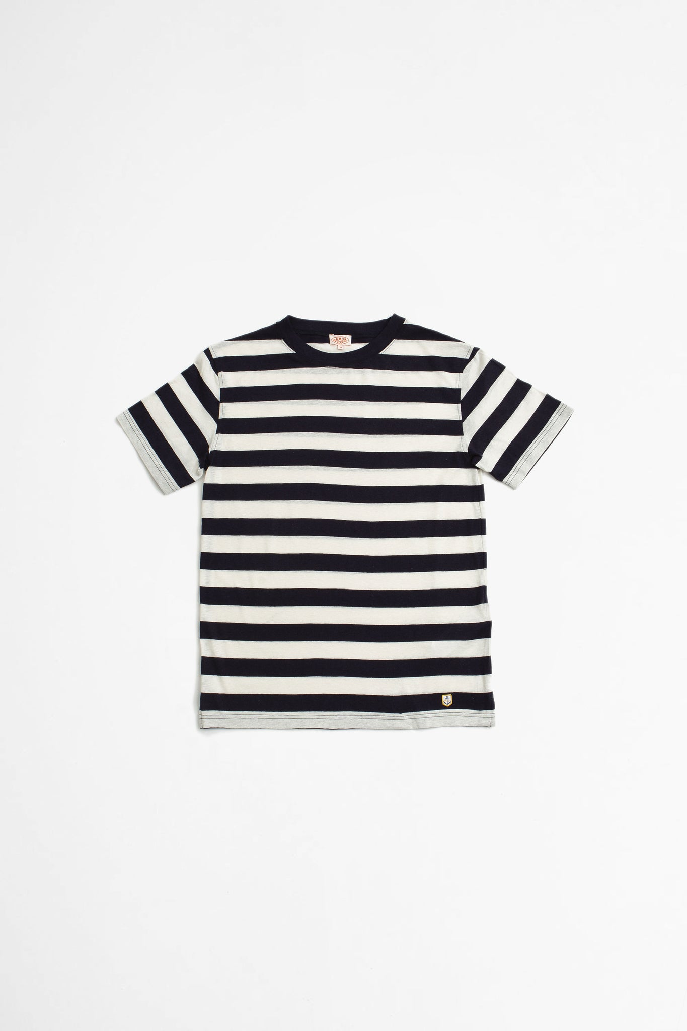 Striped t-shirt heritage navy/nature