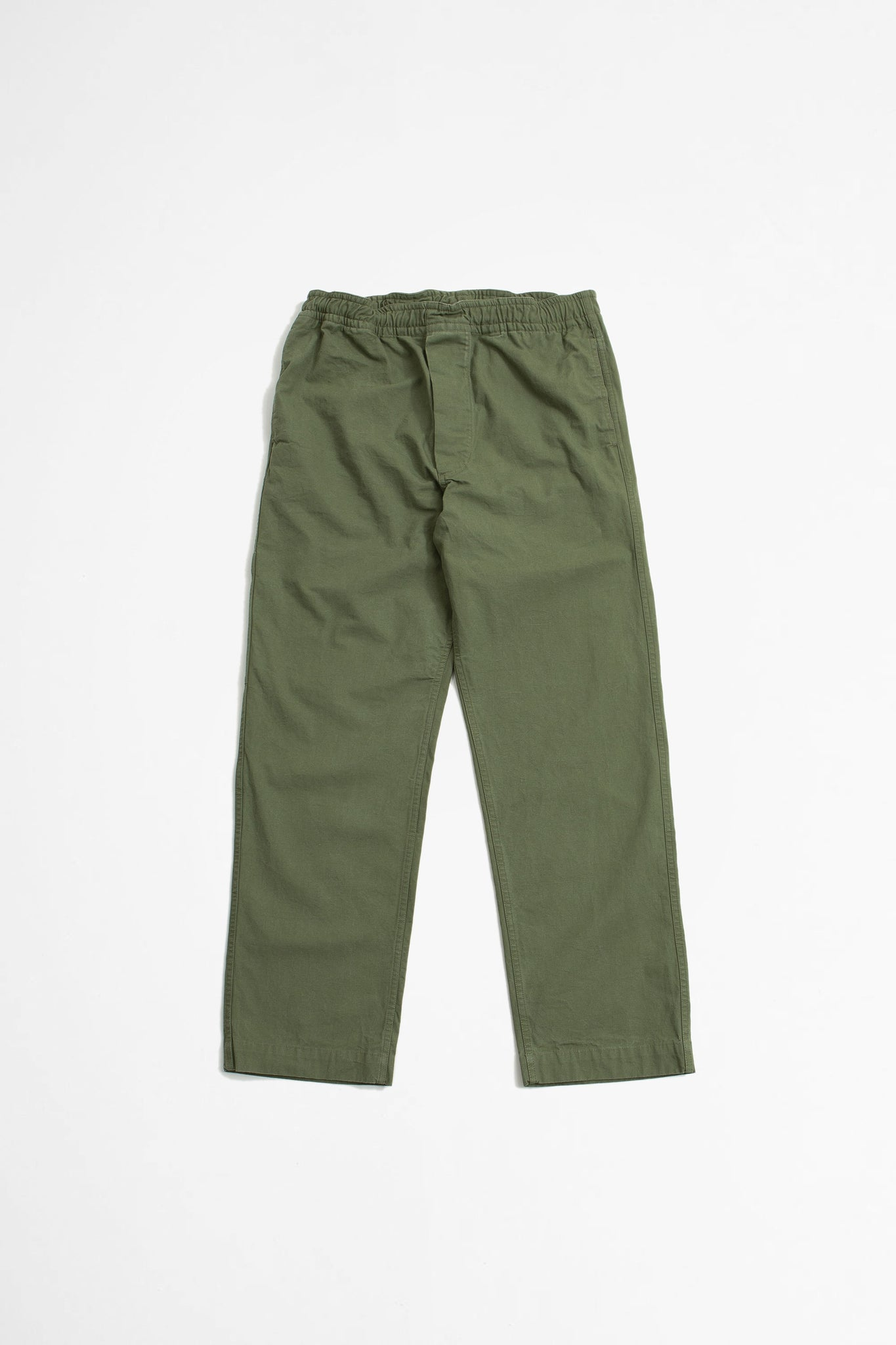 Pull up trouser compact broken drill khaki