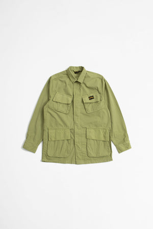 Tropical jacket olive twill