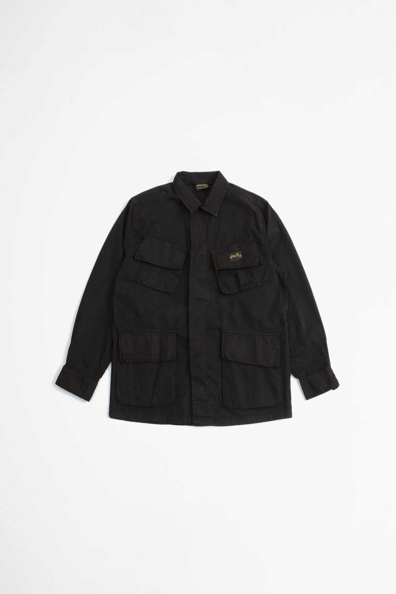 Tropical jacket black twill