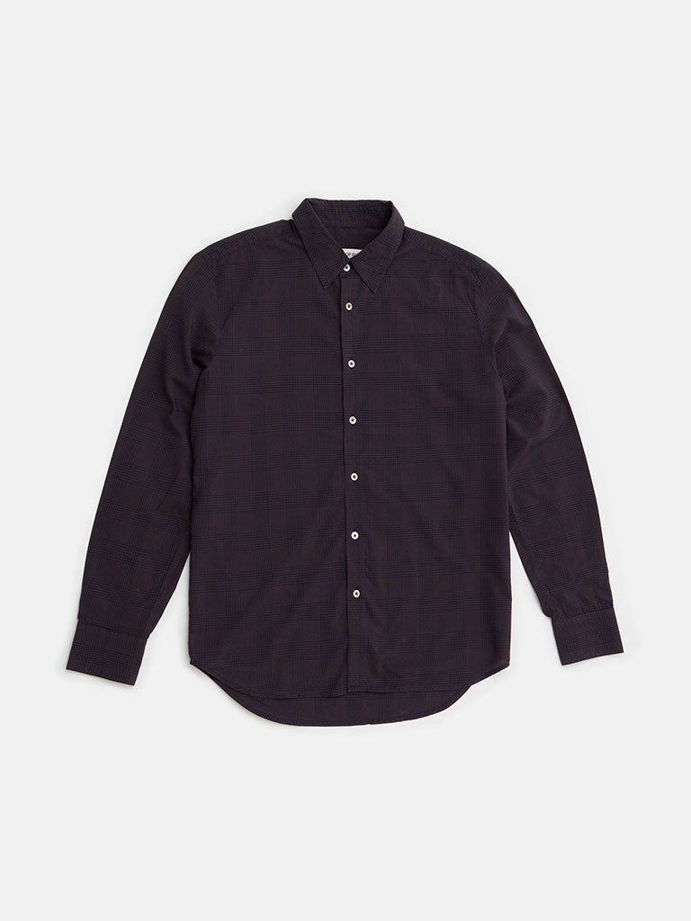 A Kind of Guise. Mirage aubergine shirt