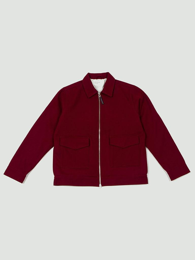 Universal Works. Battleman jacket red