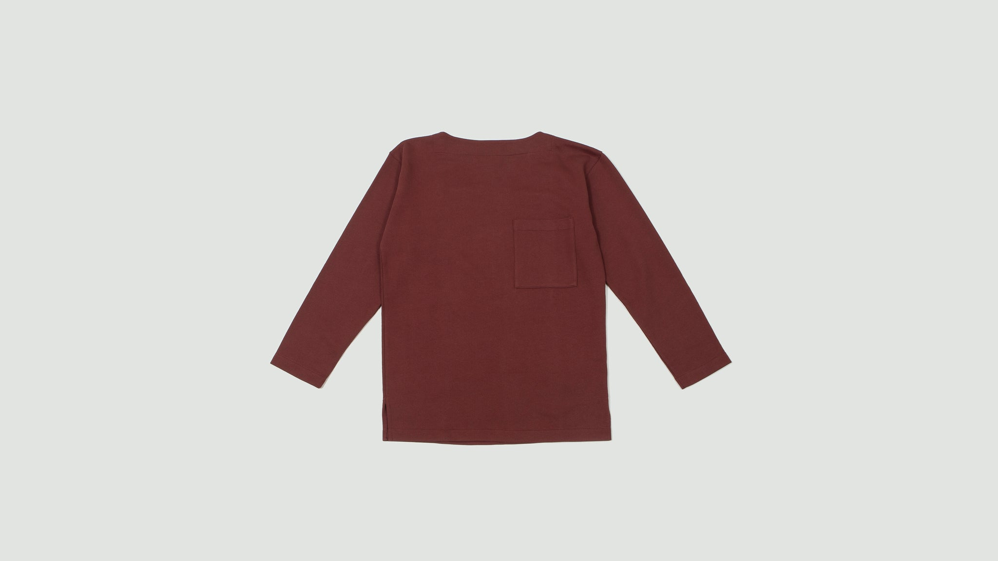 Mariniere sweatshirt red