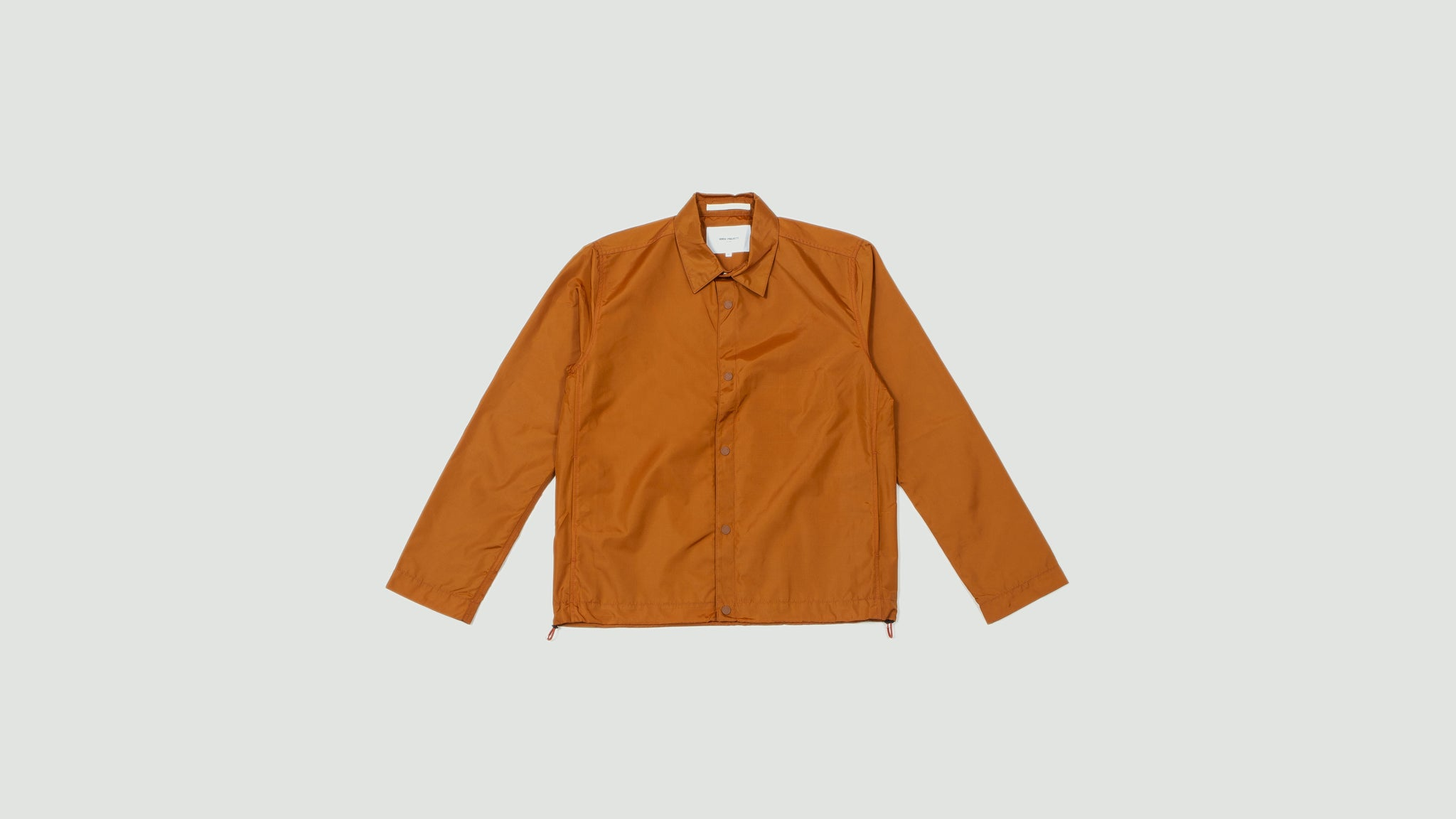 Norse Projects. Svend nylon oxford oxide orange