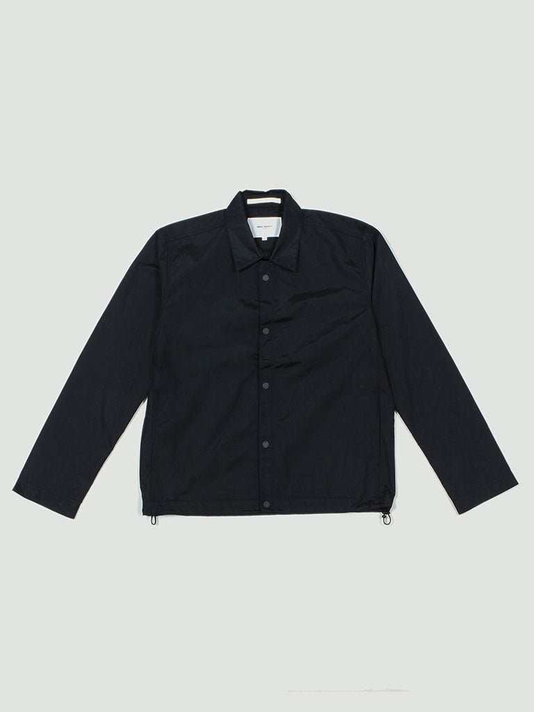 Norse Projects. Svend nylon oxford dark navy