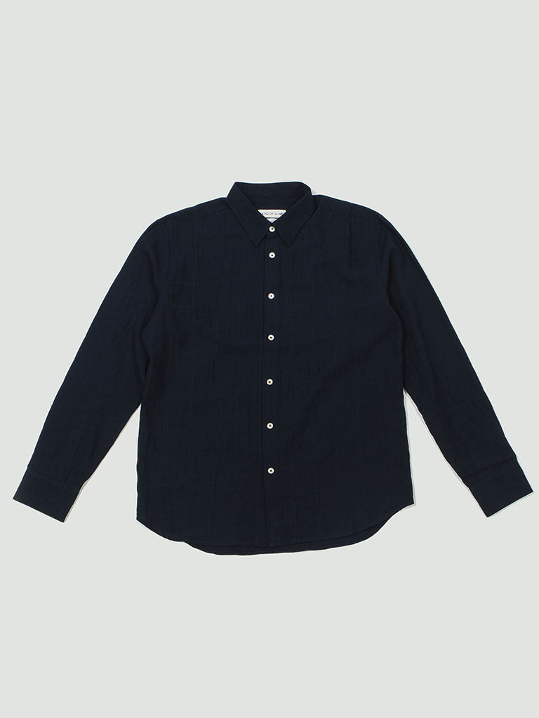 A Kind of Guise. Dharan Shirt soft navy