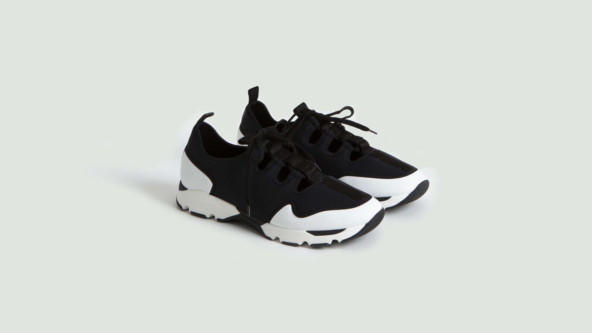 Marni. Sneakers black and white