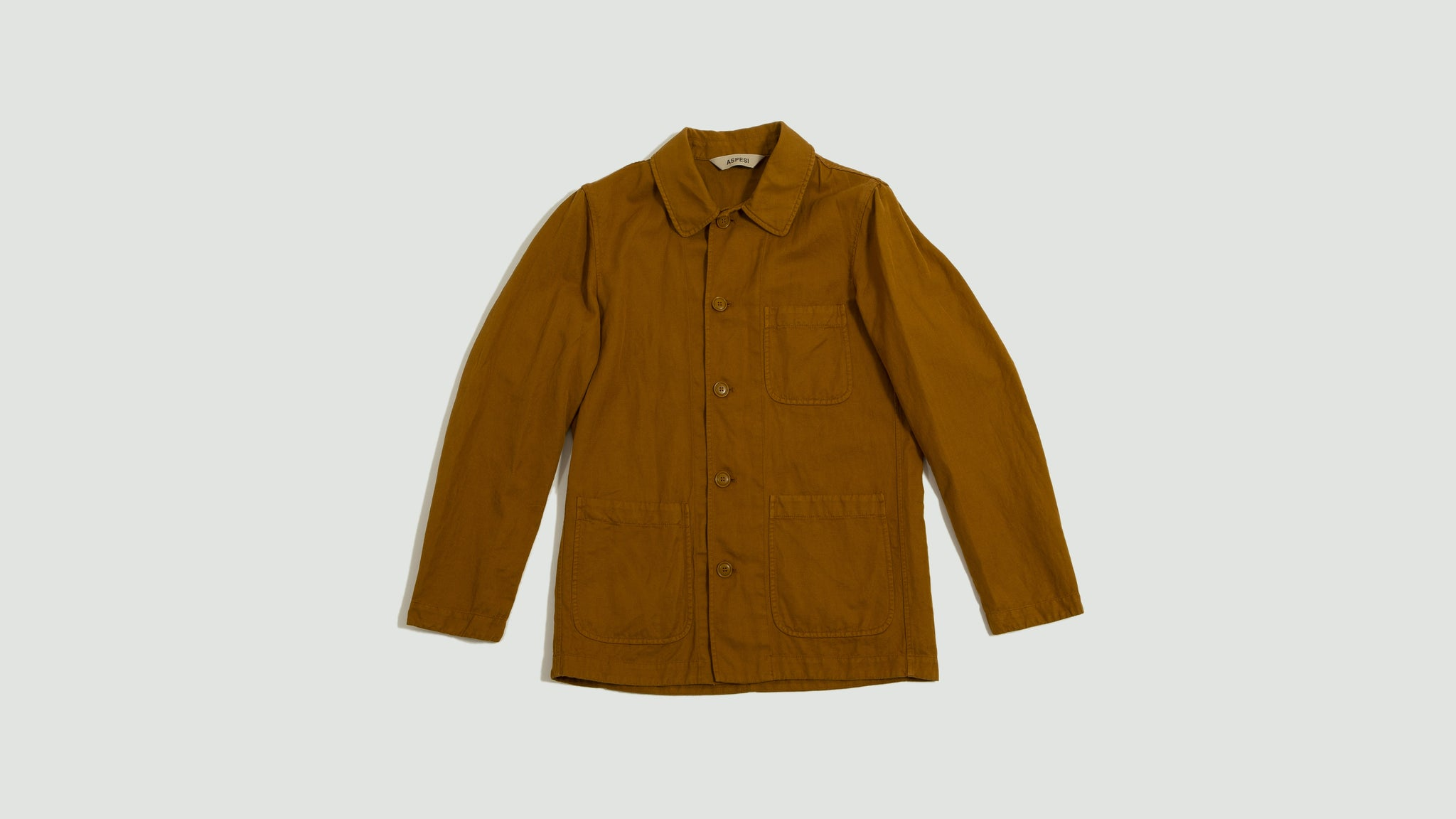 Aspesi. Blazer Tadao summer yellow