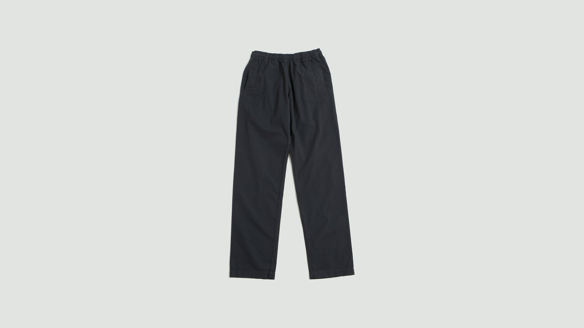 Margaret Howell. Jogger fine cotton twill charcoal