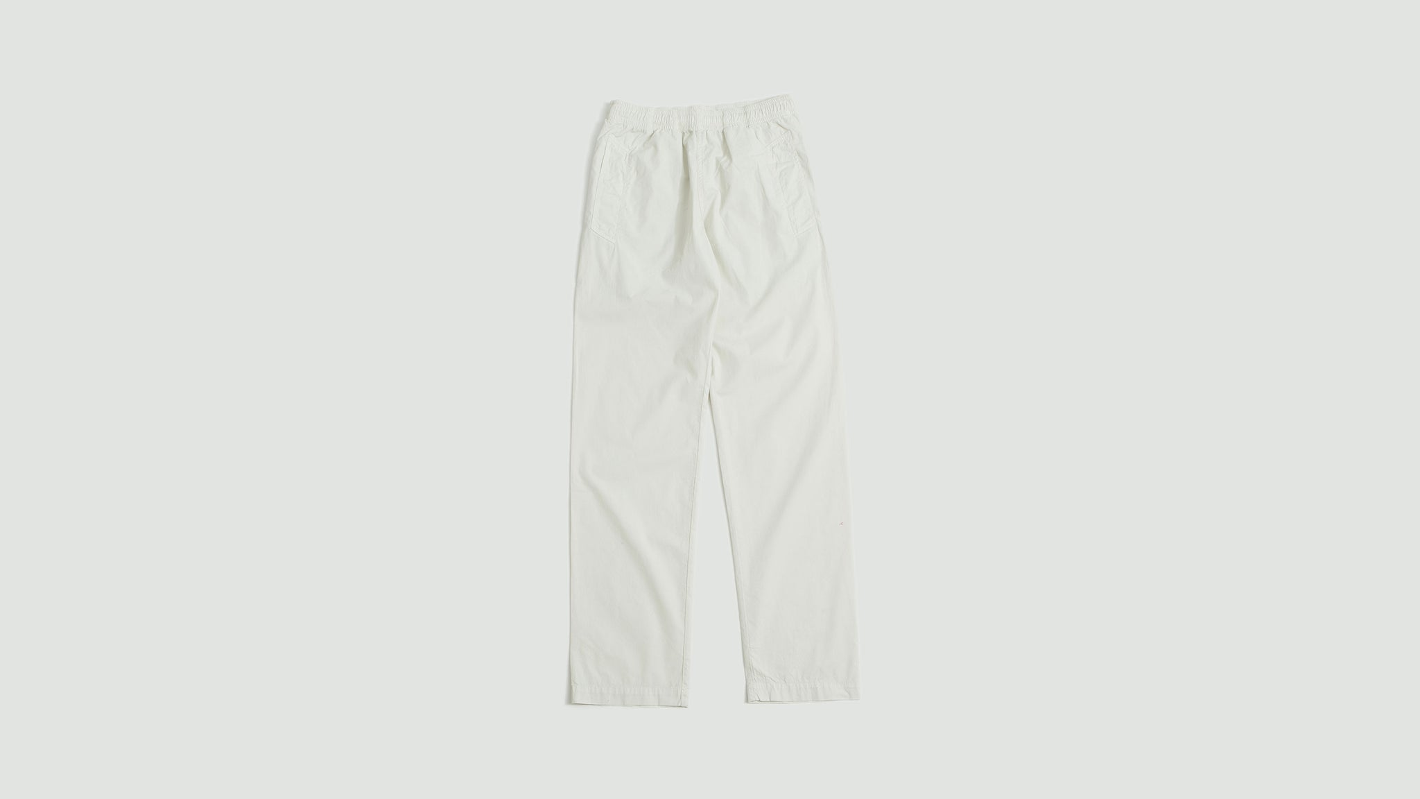 Margaret Howell. Jogger fine cotton twill chalk