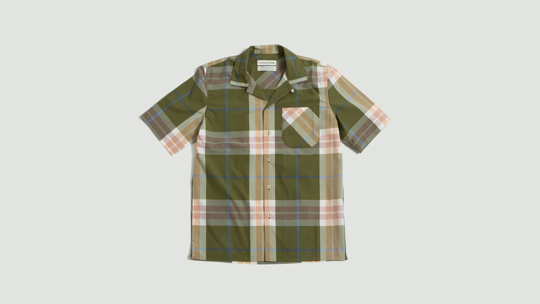 A Kind of Guise. Gioia shirt bold check