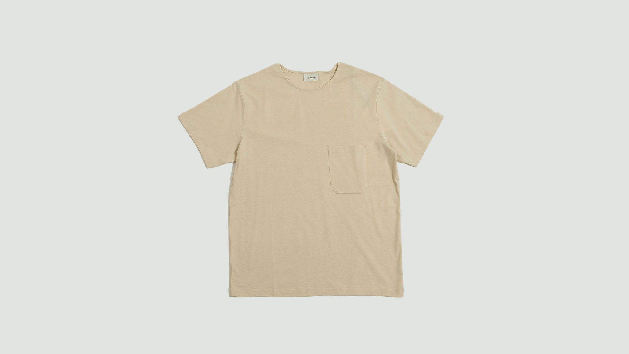 Lemaire. Short sleeve t-shirt ginger