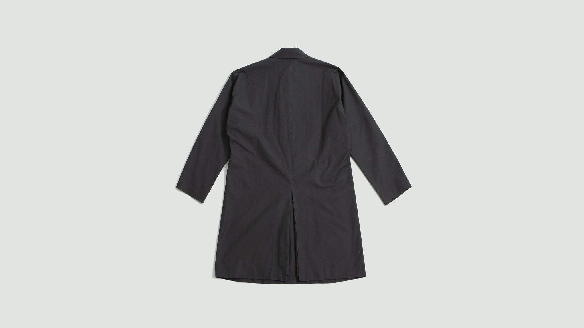 Still by Hand. Dolman sleeve coat charcoal