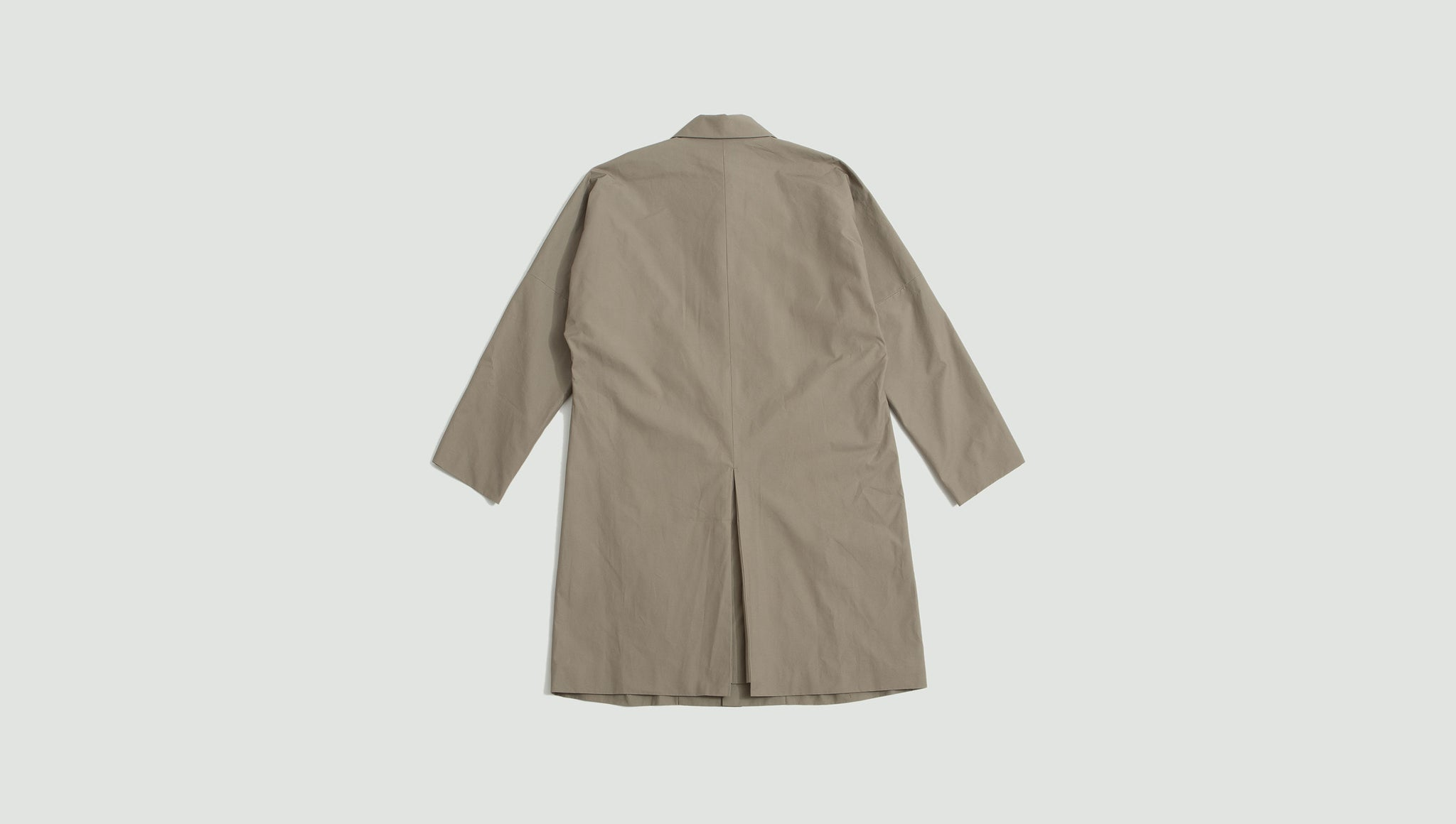 Still by Hand. Dolman sleeve coat beige