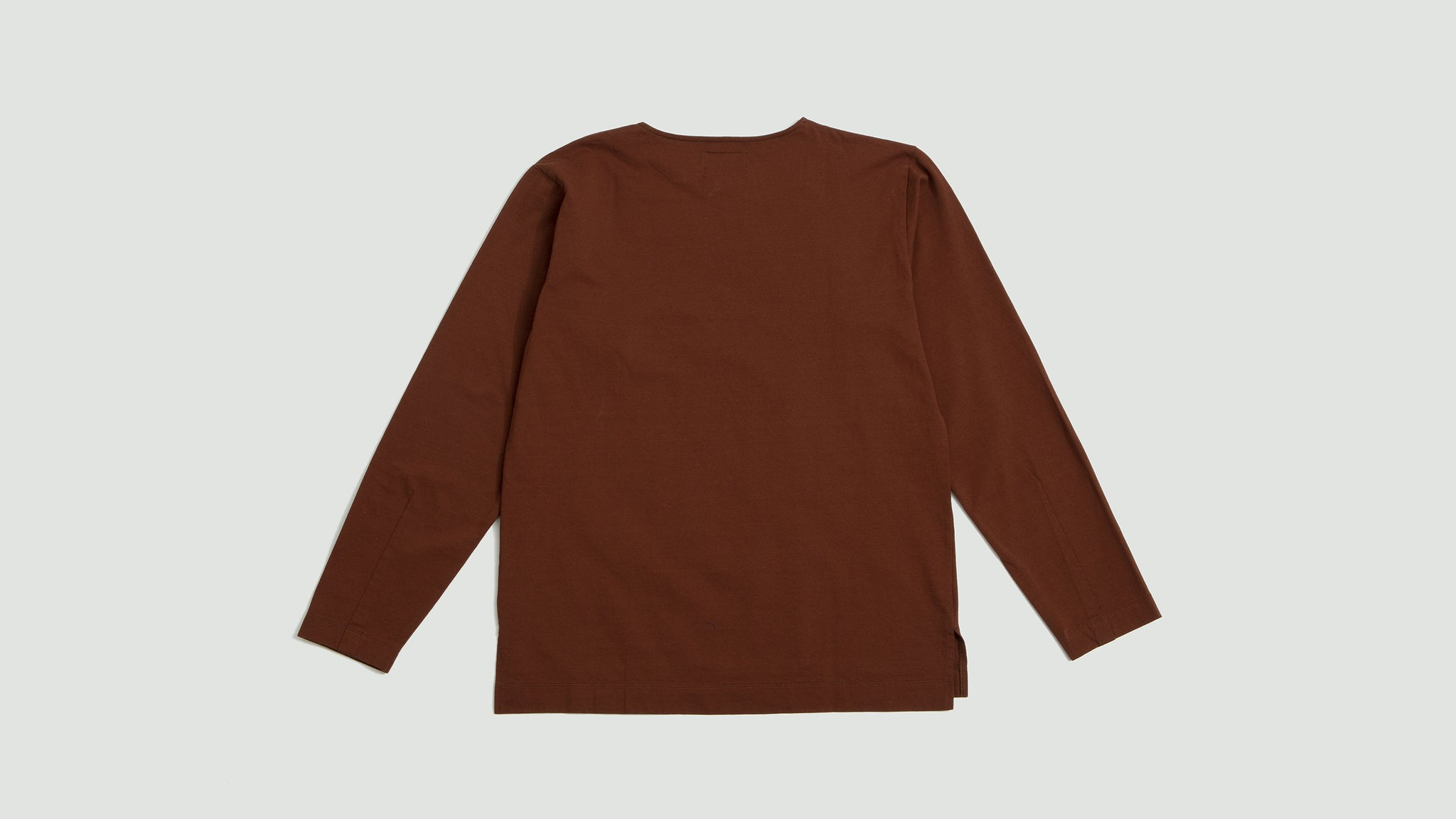 Still by Hand. Dry-touch long sleeve orange