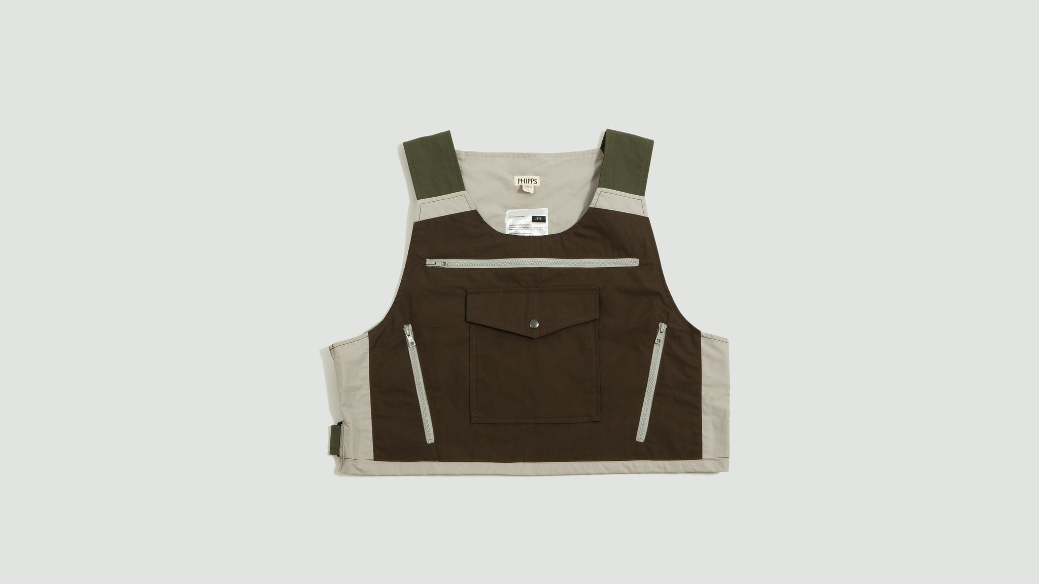 Phipps. Guide Vest brown/multi