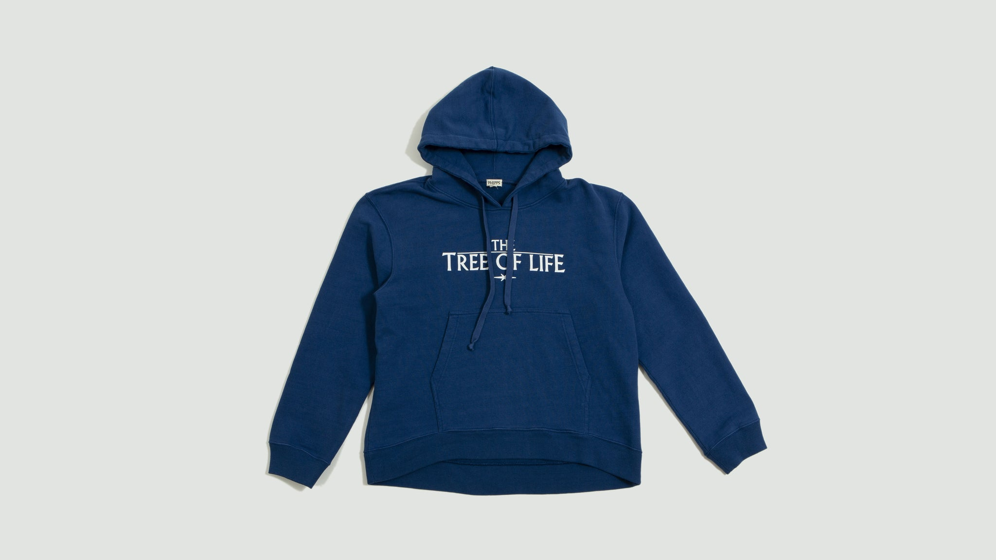 Tree of life hoodie blue