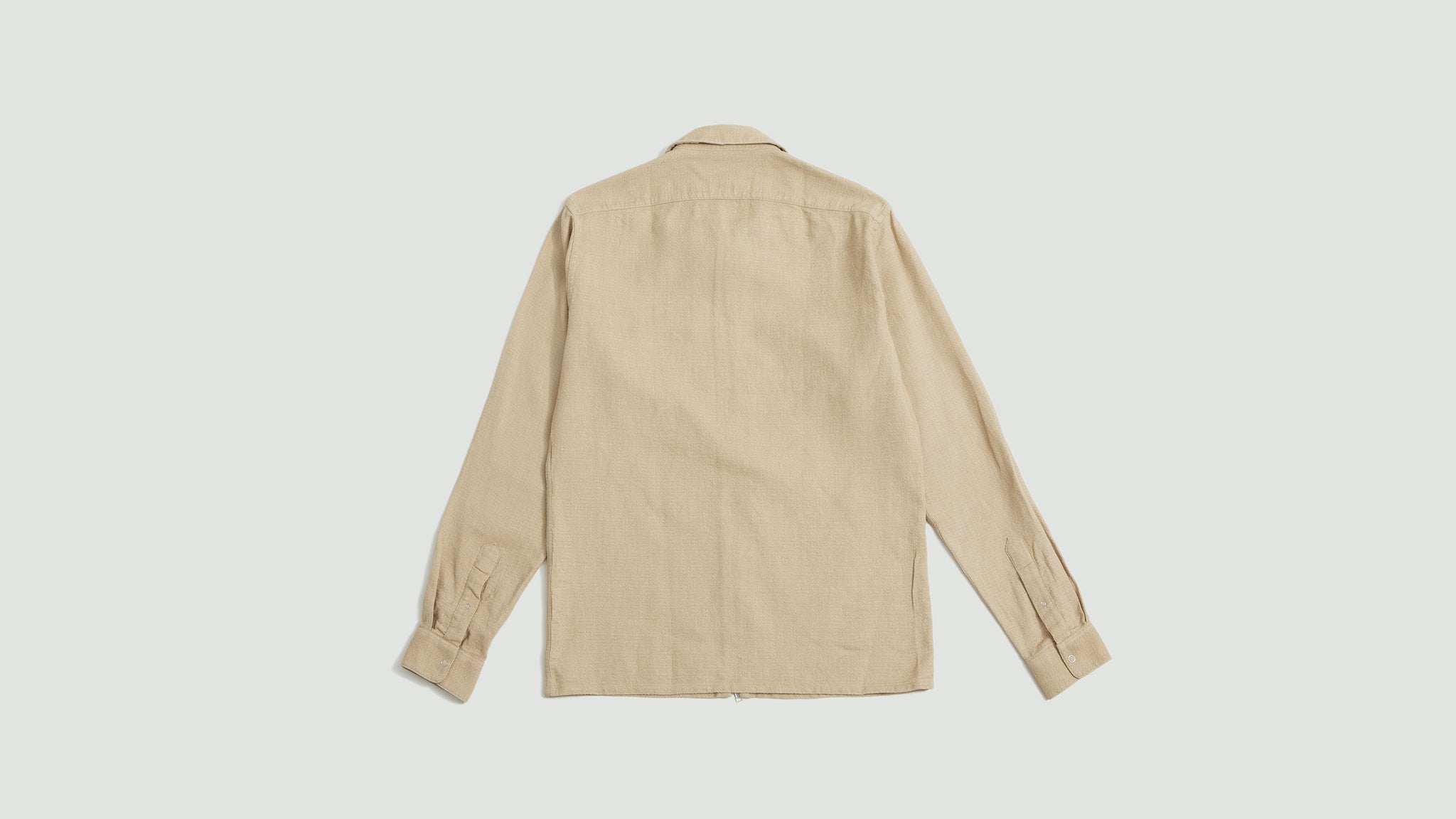 Schnaydermans. Zipshirt structured one beige