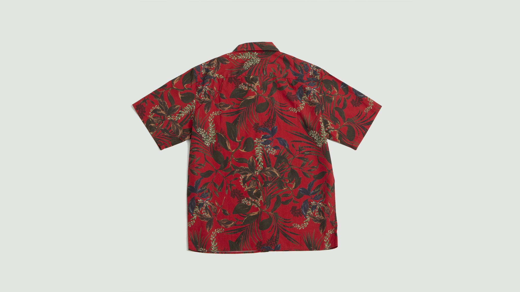 Norse Projects. Carsten print askja red