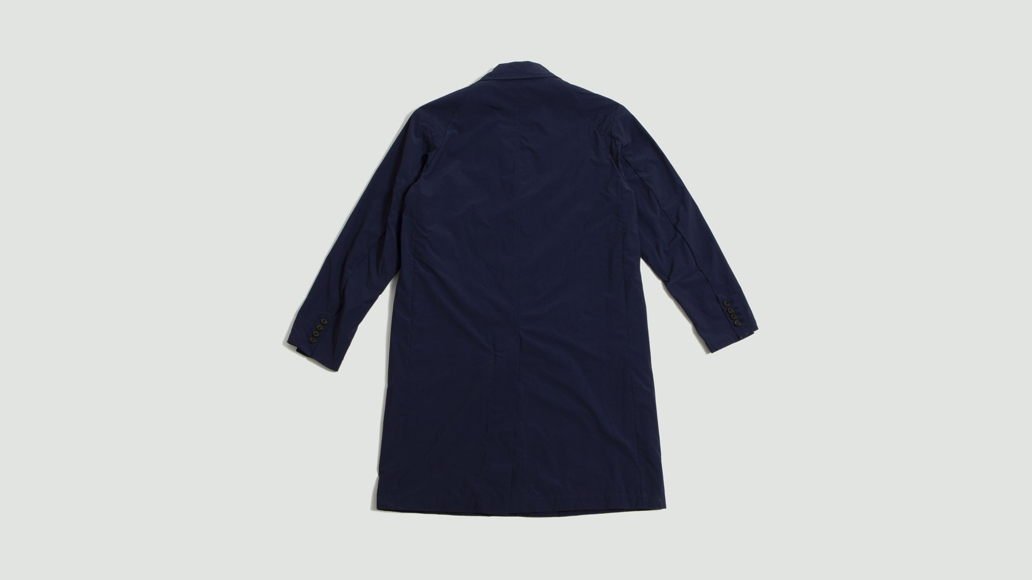 Aspesi. Raincoat navy