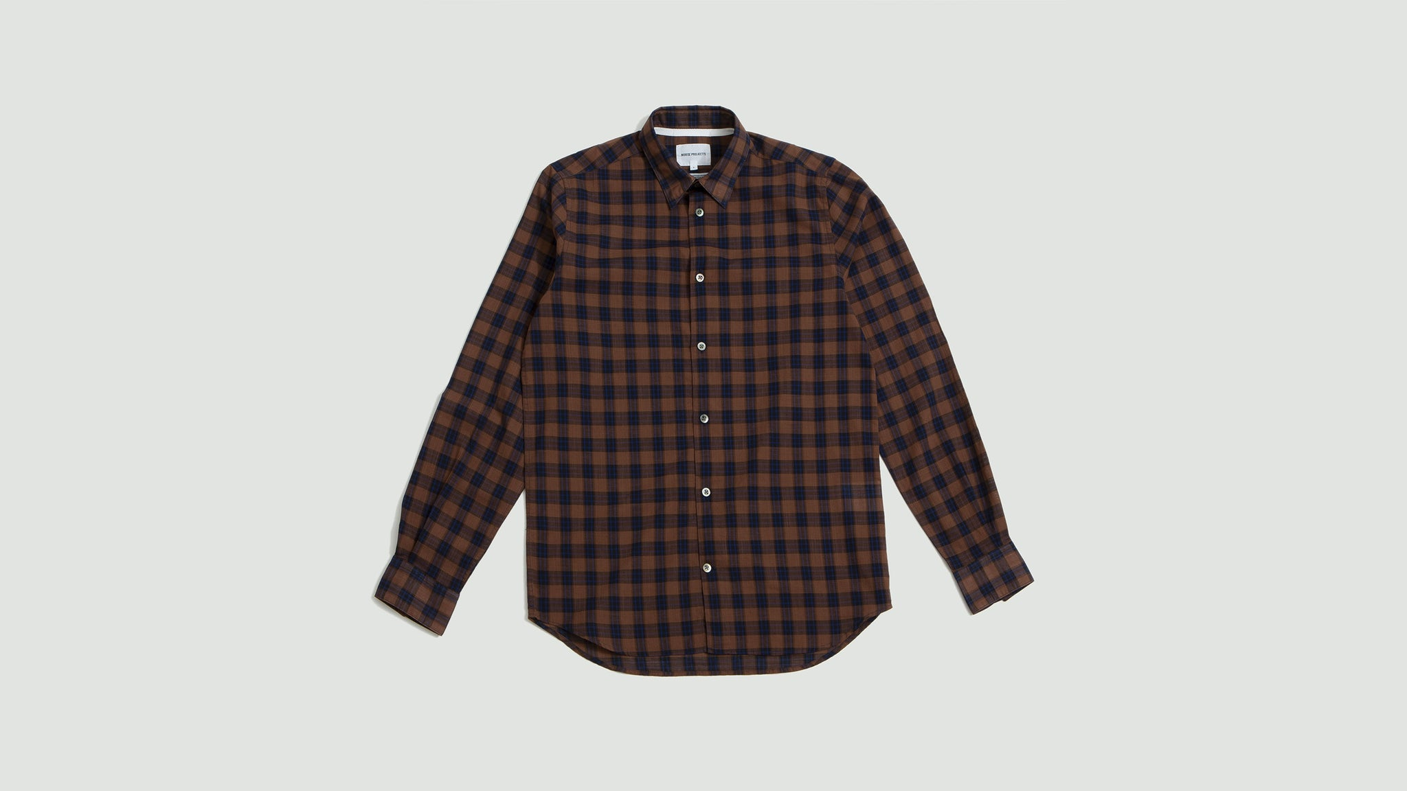 Norse Projects. Hans summer check russet