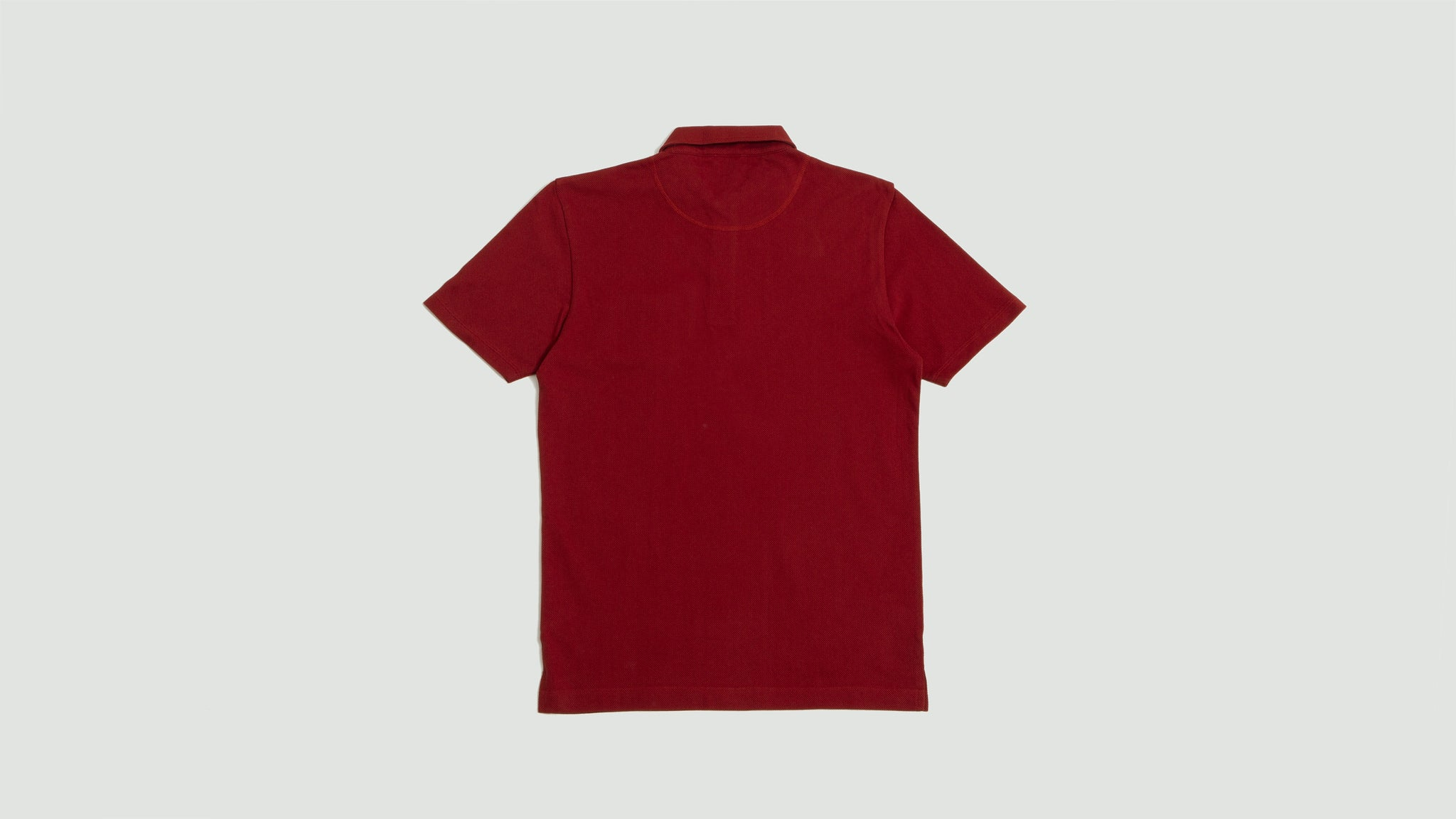 Sunspel. Riviera polo madder
