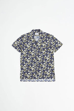 Cave S/S shirt white flower