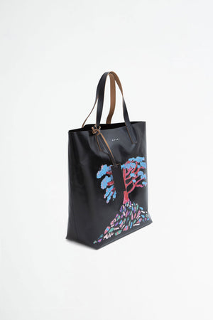Shopping bag tree print