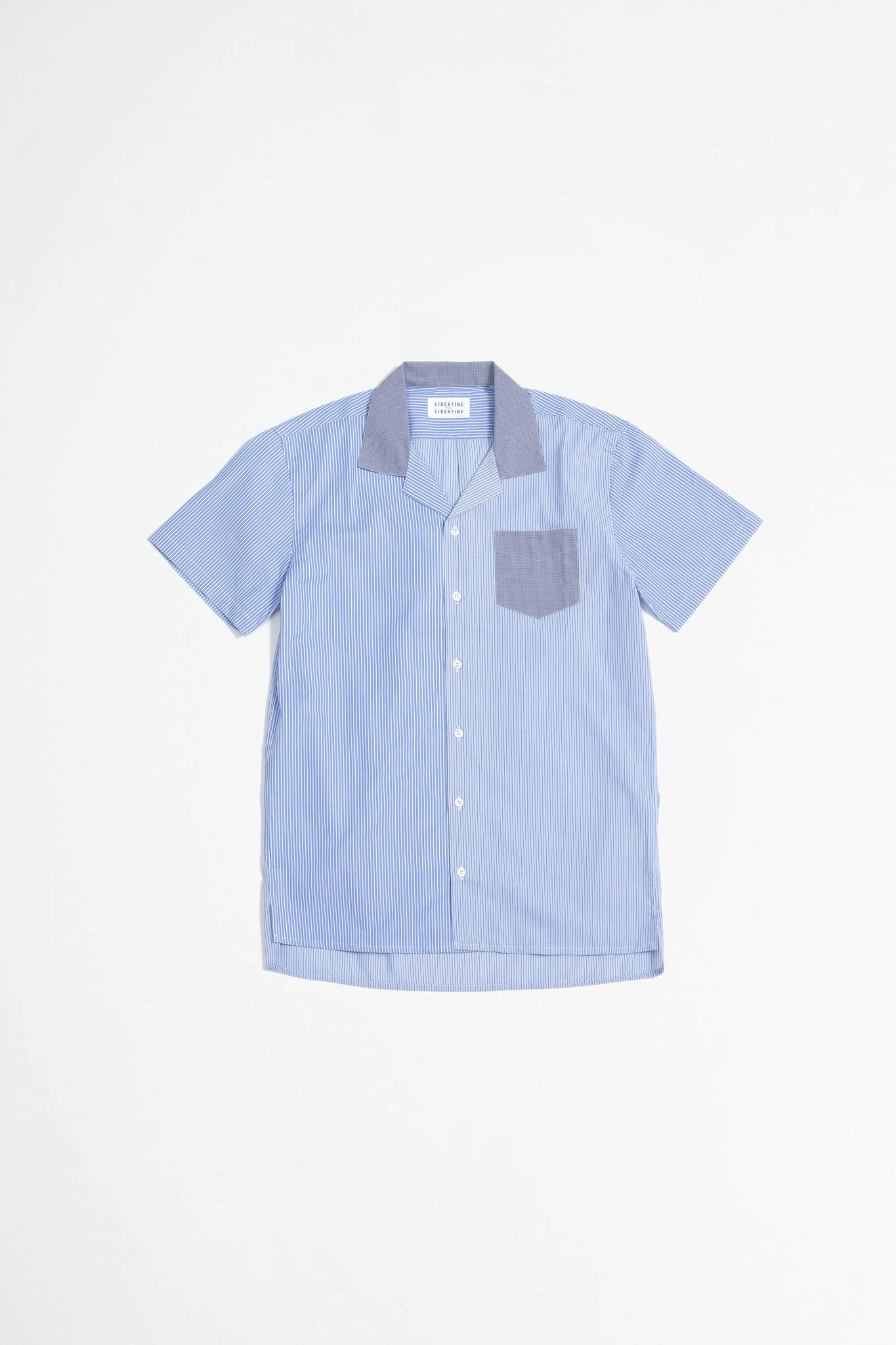 Cave S/S shirt stripe mix 2