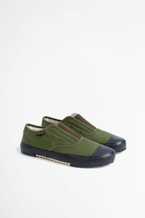 Italian military trainer olive/black sole