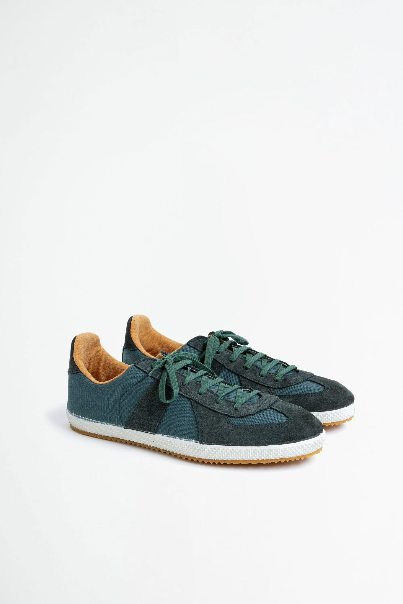 German military trainer green