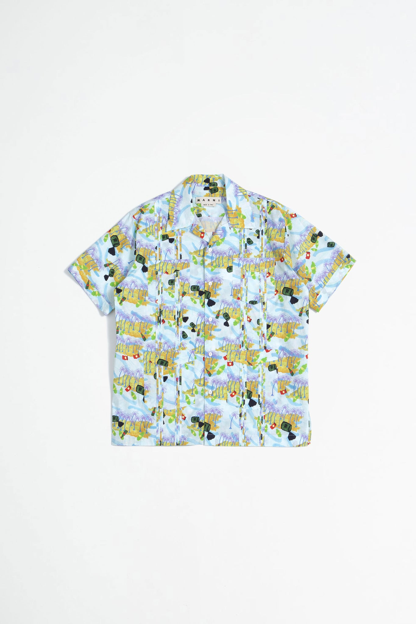 Printed shirt multicolor
