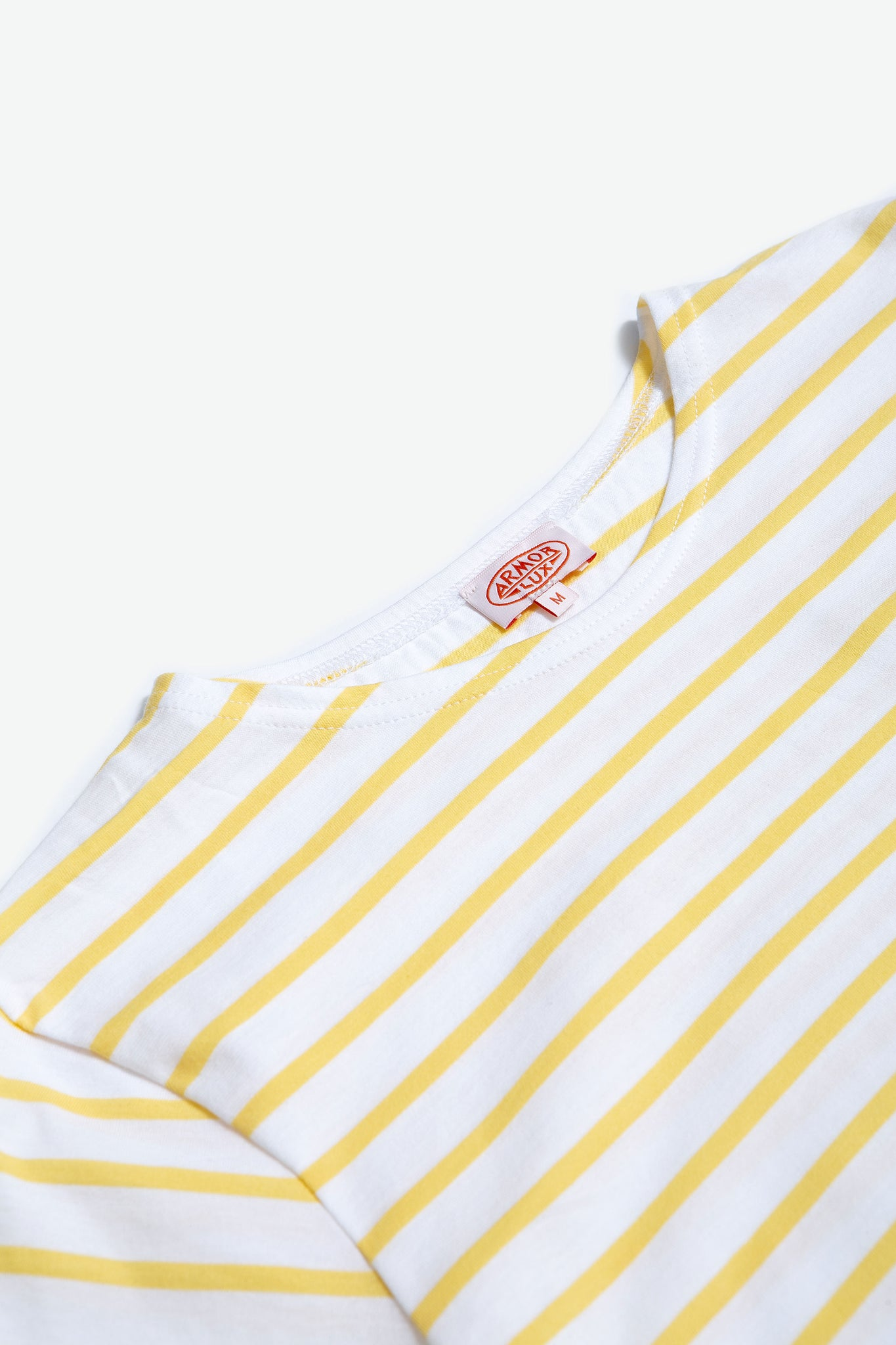Sailor shirt s/s blanc/blondeur