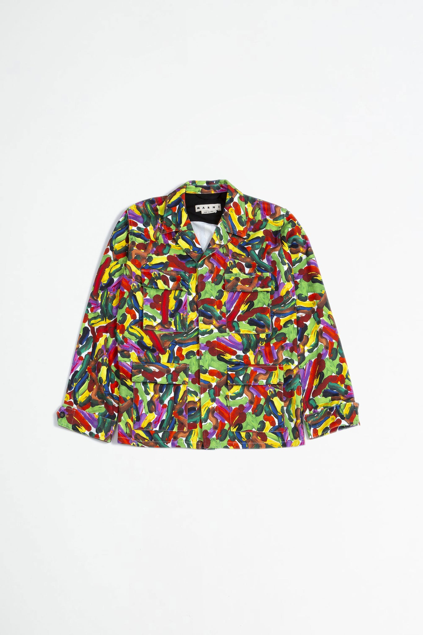 Printed jacket multi