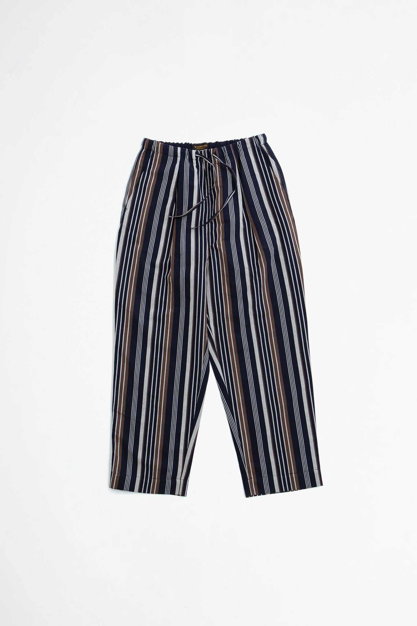 Lax easy pants navy stripes