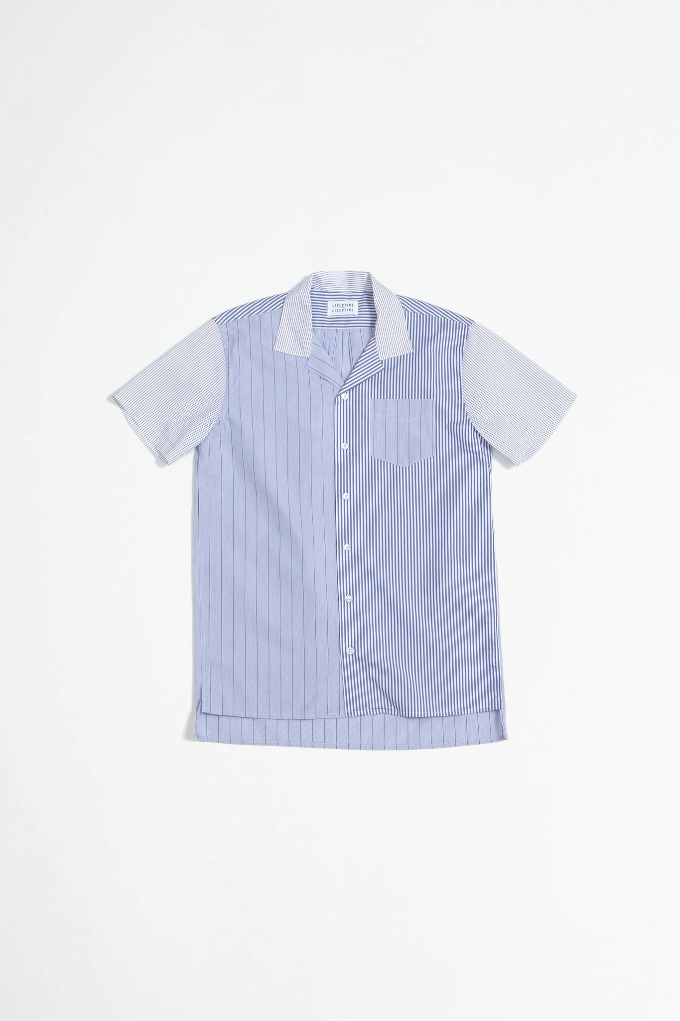 Cave S/S shirt stripe mix 1