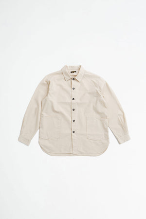 Gardener shirt jacket natural