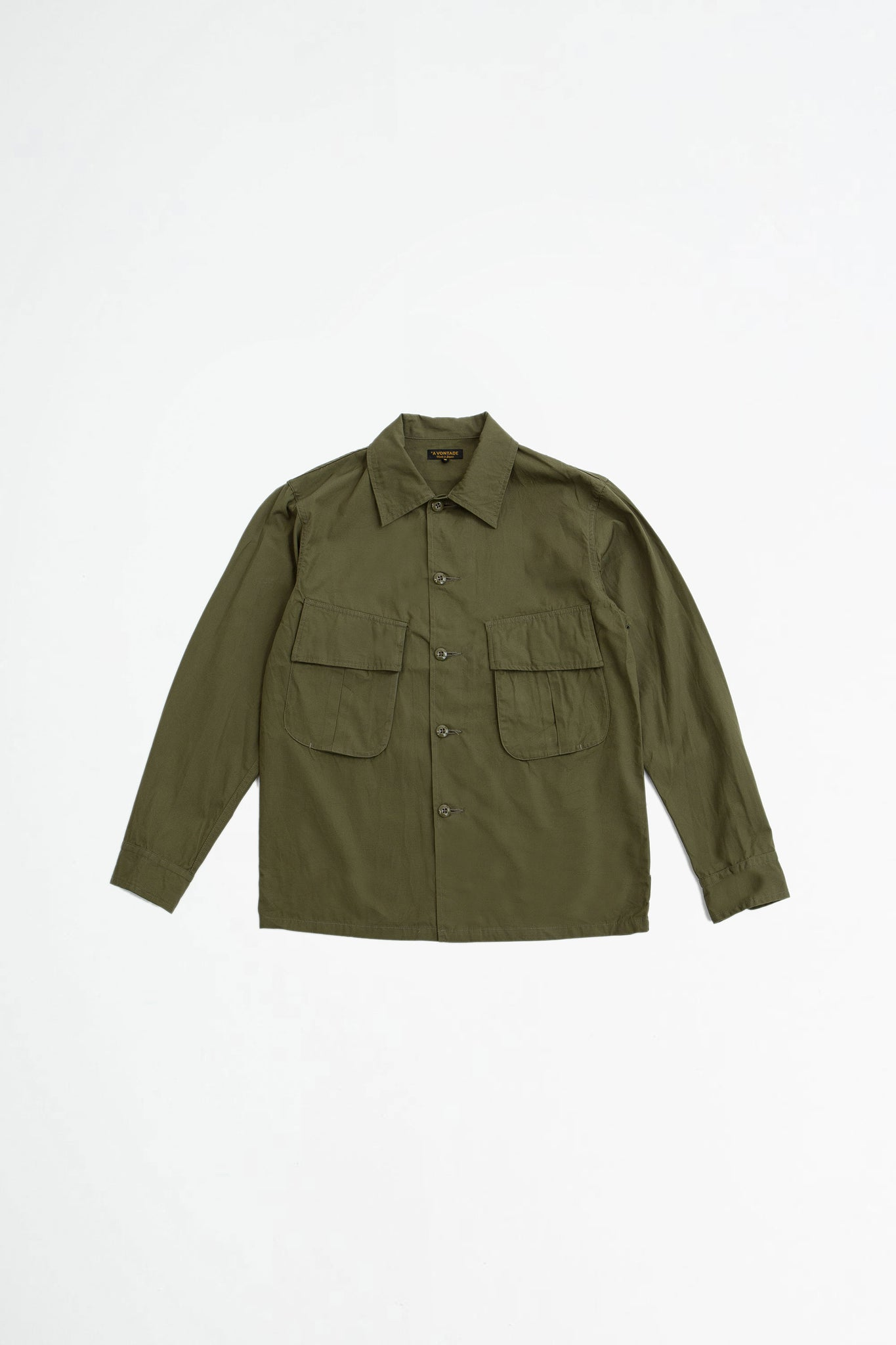 Fatigue shirt jacket olive