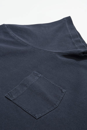 T- Shirt jersey garment dyed black