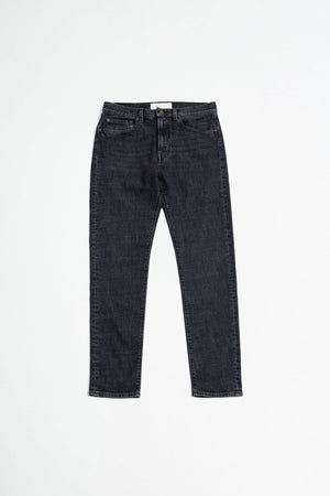 Tapered 5 pocket trousers mid 80s stone wash