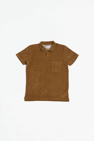 Vacation polo terry cumin