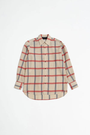 Checked shirt brown/red