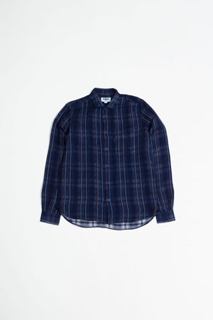 Curtis shirt navy stripe