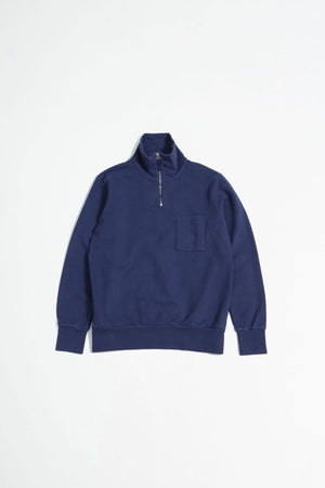 Half zip sweatshirt navy