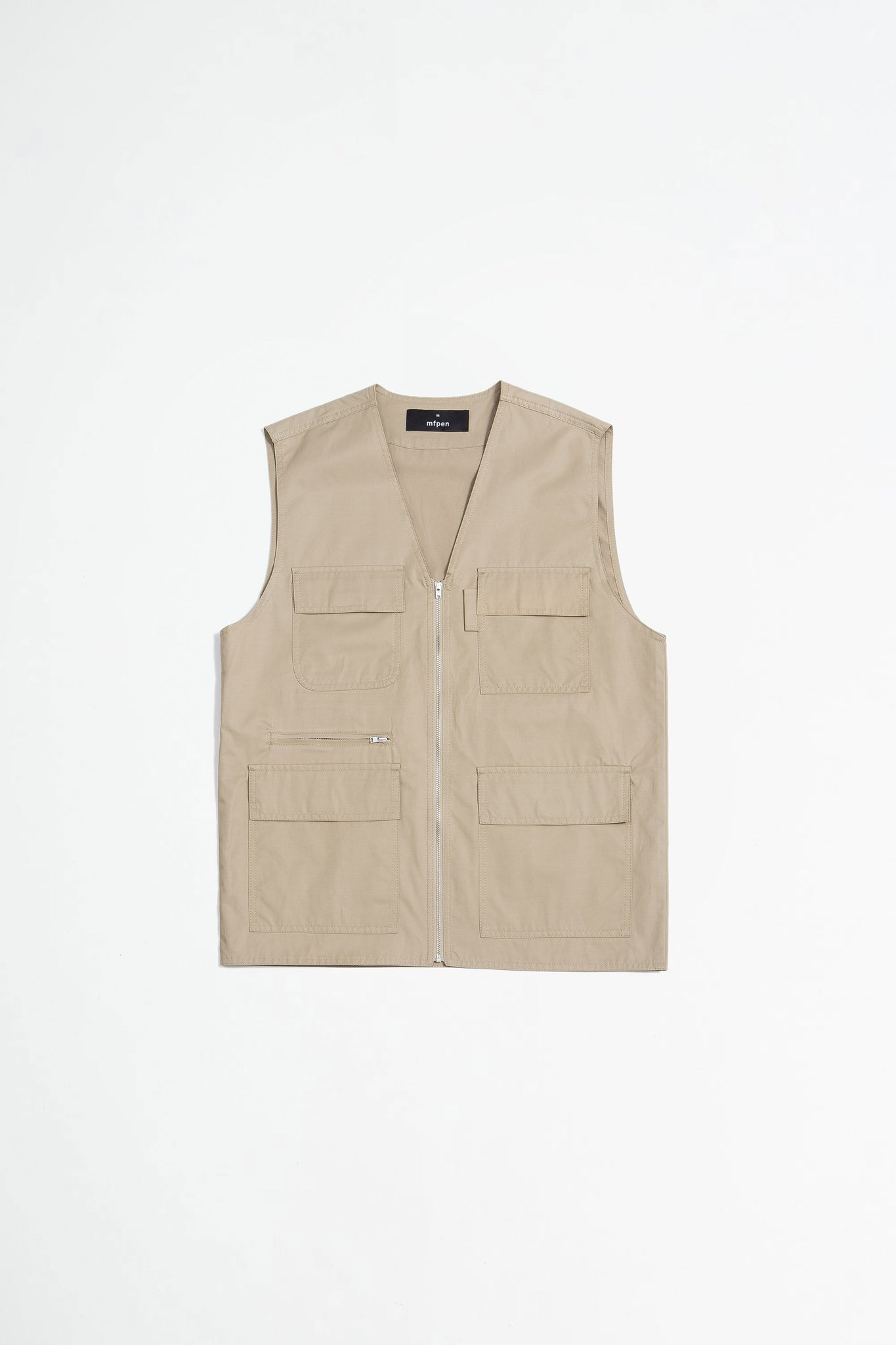 Supply vest beige