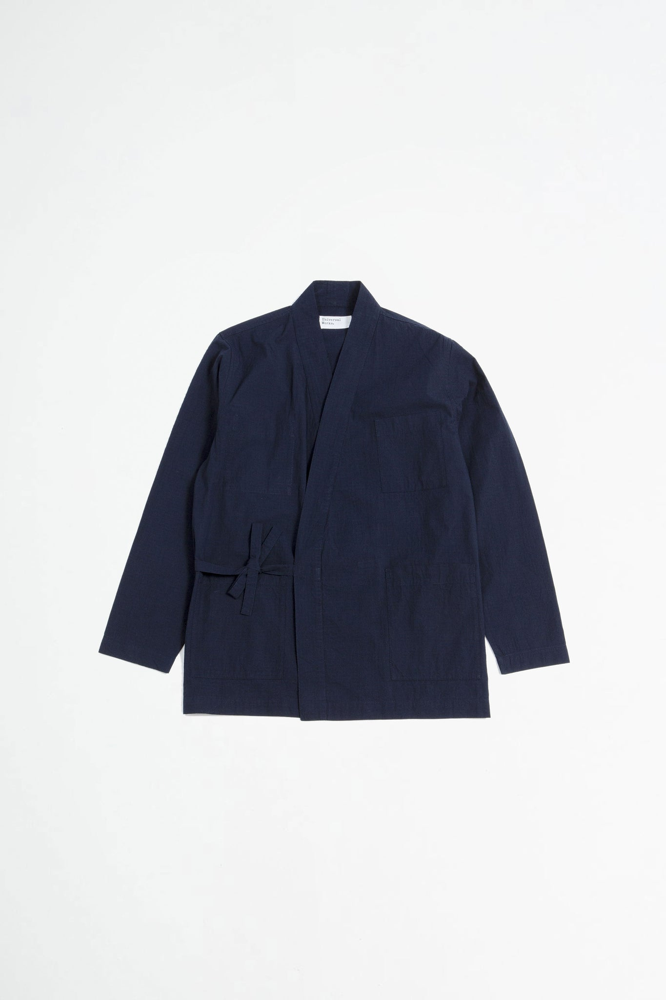 Kyoto work jacket ripstop navy